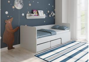 <span>Детская кровать</span> Легенда 40 белая