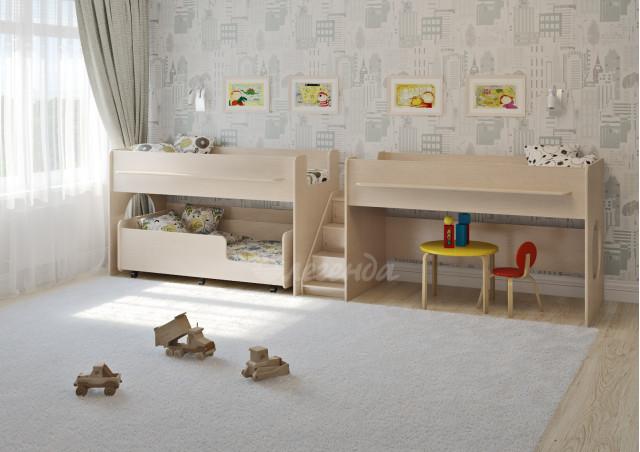 Детская выкатная кровать Легенда 23.5